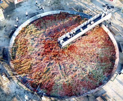 Paella Galbis Record Guiness Madrid 2001