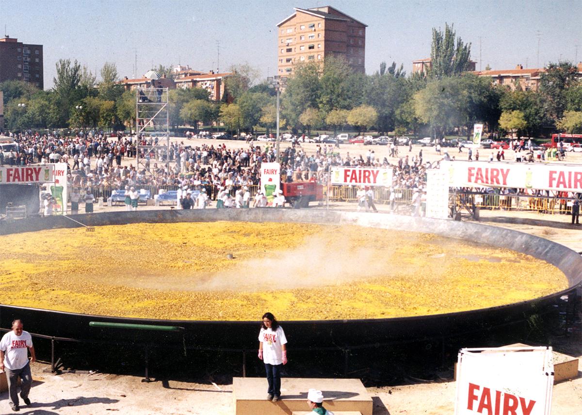 Paella más grande del mundo 2001
