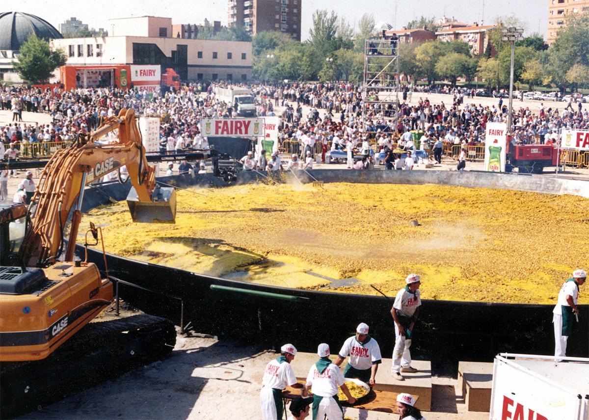 Record Guinness paella monumental Galbis Paellas Gigantes
