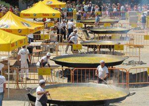 Paellas Gigantes para macro eventos