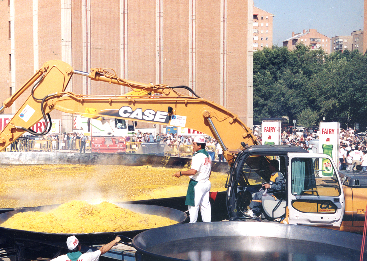 Galbis Paellas Gigantes Récord Guinness Madrid 2001