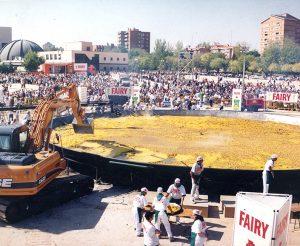 2001 Paella Record Guinness Madrid Galbis