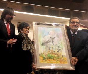 Reconocimiento Antonio Galbis Ayuntamiento Alcudia
