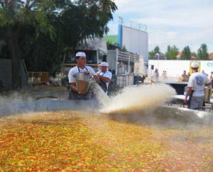 Galbis paellas gigantes para eventos al aire libre