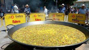 Paella Gigante de Paella Valenciana