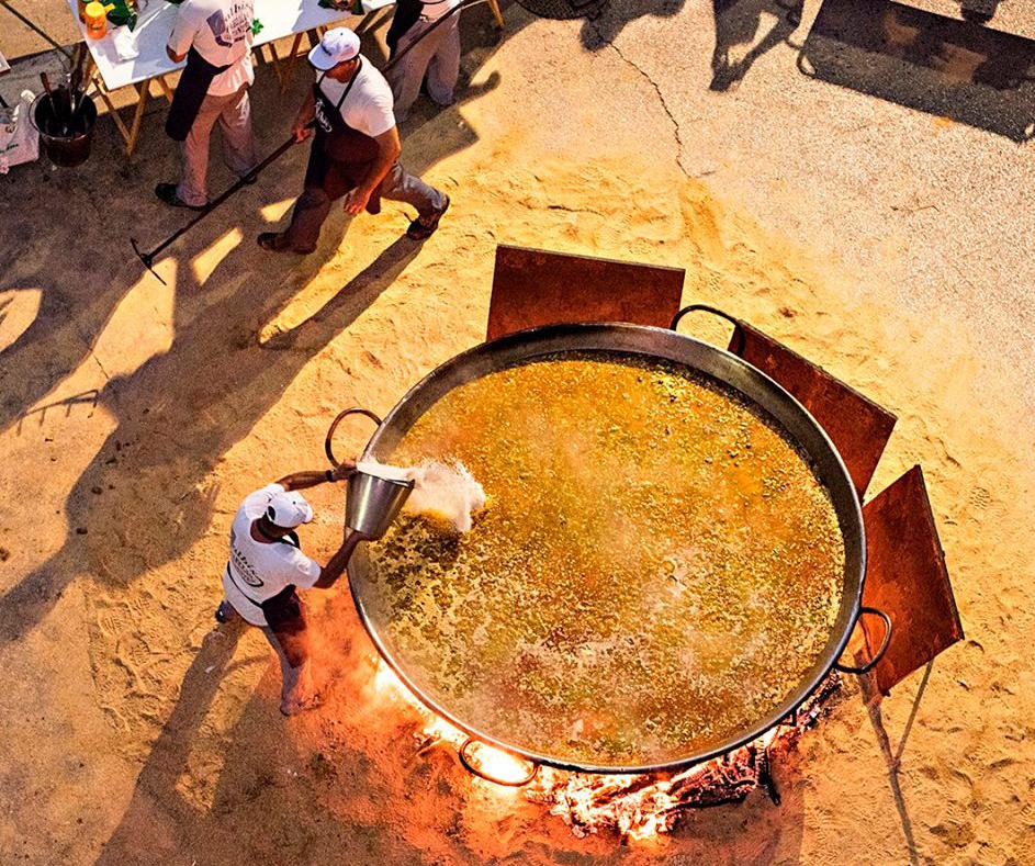 Paella Gigante para festivales
