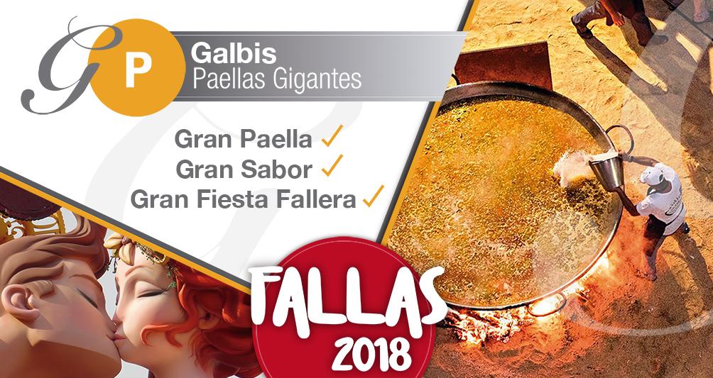 Paellas Gigantes Fallas