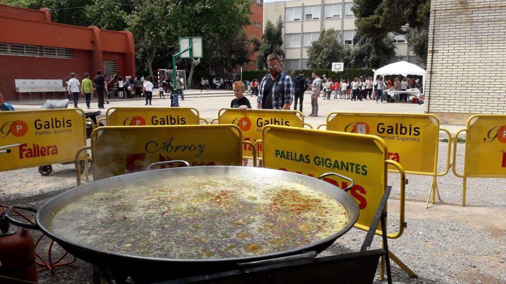 Fiesta Fin de Curso en Colegios Paellas Gigantes