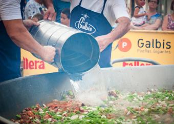 Productos para elaboración de una Paellada Galbis Paellas Gigantes