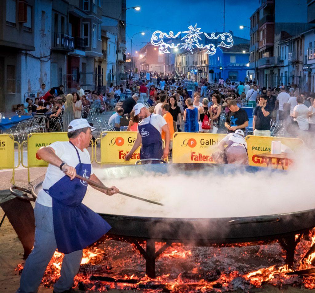Paelladas para eventos populares